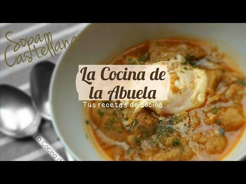 Sopa castellana receta tradicional doovi - Sopa castellana youtube ...