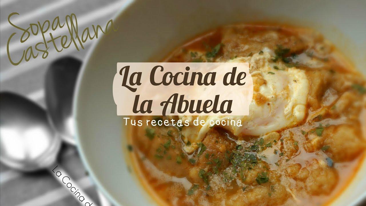Sopa castellana sopa de ajo youtube - Sopa castellana youtube ...