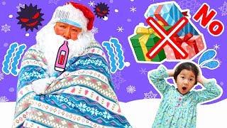 大変だ!サンタさんが倒れちゃった!看病して風邪を治してあげよう♡himawari-CH thumbnail