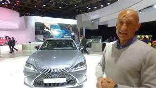 Парижский автосалон-2018: Lexus ES, RC и UX