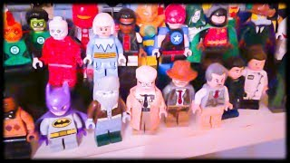 Custom LEGO DC Minifigure Collection