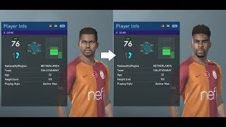 PES 2019 facepack part 6 - Turkey Süper Lig real faces added (PC)