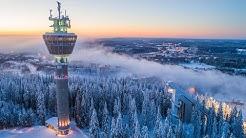 Puijon Torni, Puijo Tower - born again. Kuopio, Finland.