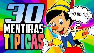 30 MENTIRAS QUE TODOS HEMOS DICHO
