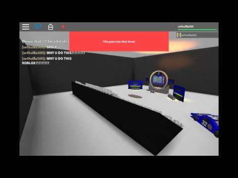 Roblox This Game Has Shut Down Youtube