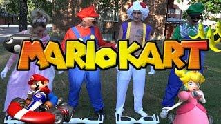 Vlogg | Mario kart med airboards