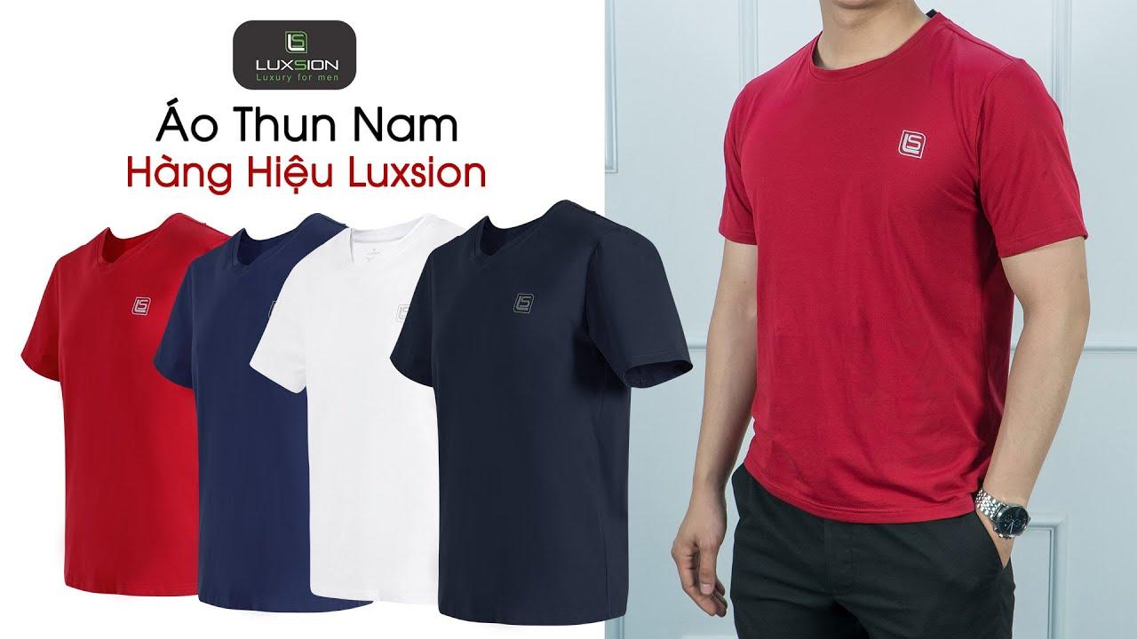 👕Áo Thun Nam Luxsion – Áo Phông Đẹp, Hàng Hiệu, Chính Hãng Luxsion🏅