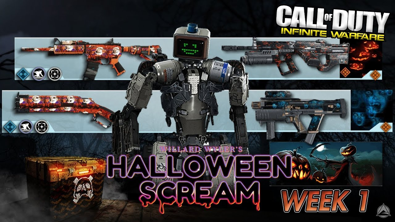 Cod Infinite Warfare Halloween Scream 2020 NEW HALLOWEEN SCREAM HACK WEEK 1! [Infinite Warfare Supply Drop
