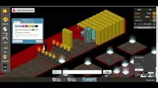 Construindo um labirinto no Habbinfo