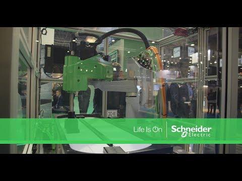 Salon Smart Industrie 2018, la robotique - Schneider Electric