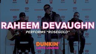 Raheem DeVaughn Performs 'Rosegold' Live   DLL