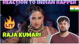 REACTION TO INDIAN RAPPER Raja Kumari Firestarter Mass Appeal India