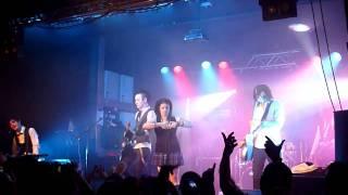 The Birthday Massacre - Happy Birthday. Live @ The O2 Birmingham on 22 October 2010
