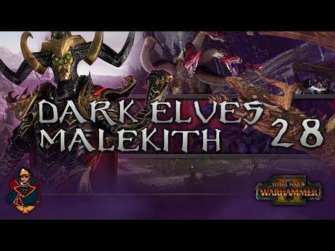 [28] THE FINALE: MOTHER vs SON! - Total War: Warhammer 2 (Dark Elves) Campaign Walkthrough