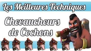 Clash of Clans - Attaque Cochons Sorcier en Hdv 7 !