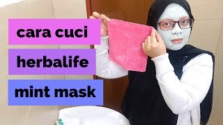 Cara Cuci Herbalife Mint Mask