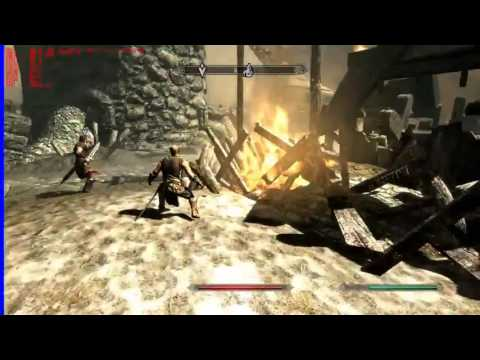 Skyrim Base Performance Test Video (Chrisfragger1)