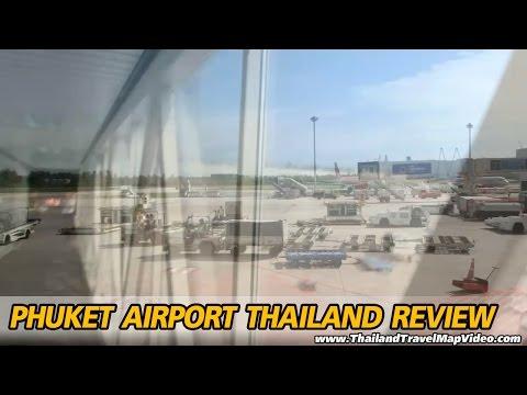 Phuket Airport Map Review Thailand รีวิว แผนที่ สนามบินภูเก็ต