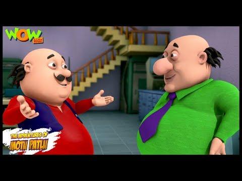 Motu Patlu New Episodes  Cartoons  Kids TV Shows  Motu The Encyclopedia  Wow Kidz