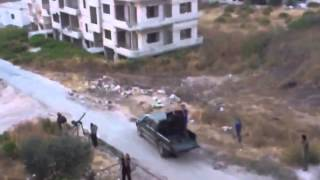 08 12 2013 Precision airstrike against FSA in Syria