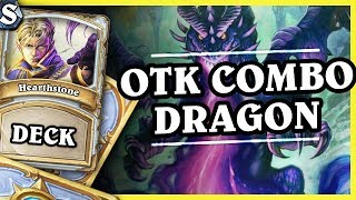 OTK COMBO DRAGON PRIEST - Hearthstone Deck Std (K&C)