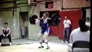 Karyn Marshall 303 lb Clean and Jerk