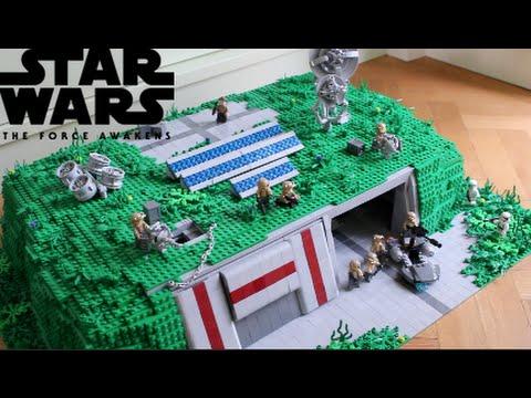 Lego star wars deutsch widerstands basis youtube - Croiseur interstellaire star wars lego ...