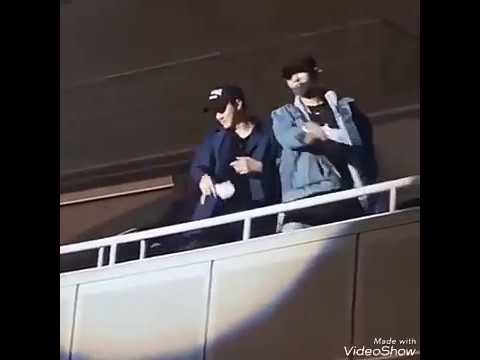 (180513) Sehun & Chanyeol Came to Concert EXO-CBX Today in Yokohama