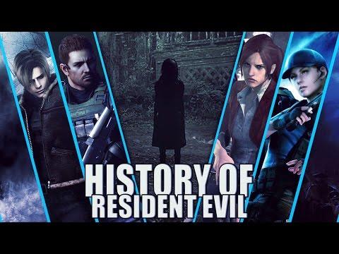 History of Resident Evil (1996-2017)