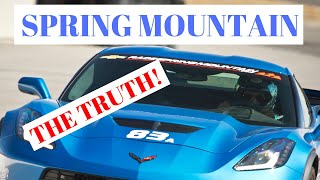 See the true Ron Fellows SPRING MOUNTAIN instructional experience in a C7 Corvette Z06