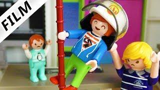 Playmobil Film deutsch | JULIANS FEUERWEHRSTANGE - Immer der erste sein | Kinderfilm Familie Vogel
