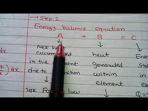 heat conduction equation in cartesian coordinates/part 1