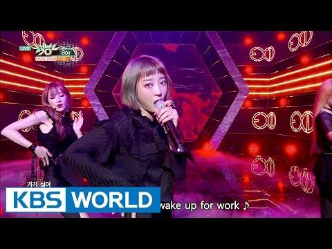 EXID - Boy [Music Bank COMEBACK / 2017.04.14]