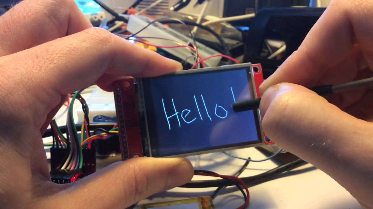 XPT2046 touch on ESP8266