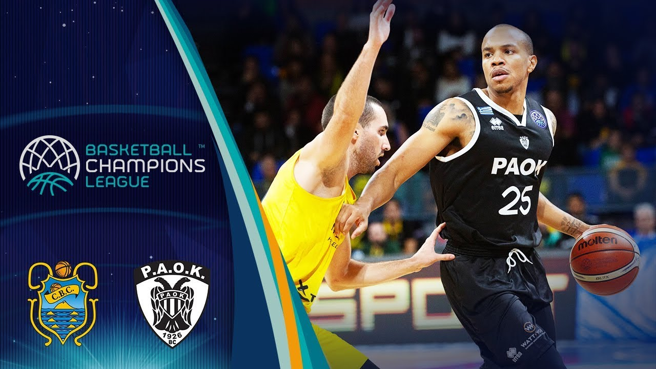 8c199cd7a6f Iberostar Tenerife v PAOK - Full Game - Basketball Champions League 2018