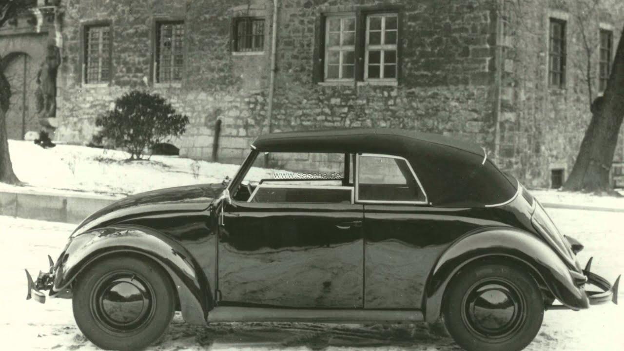 vw k fer im schnee teil 1 volkswagen beetle brezelk fer bug buba typ 1 kdf wagen cabrio. Black Bedroom Furniture Sets. Home Design Ideas