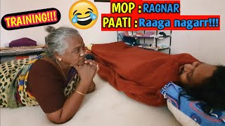 Training our paati to spell our puttukutty's new name | Epic Comedy