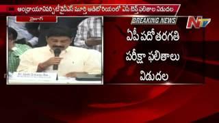 AP Ministers Ganta Srinivasa Rao Releases AP SSC results