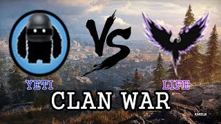 WOT Clan War SEA : YETI vs LIFE  Karelia Arty is God