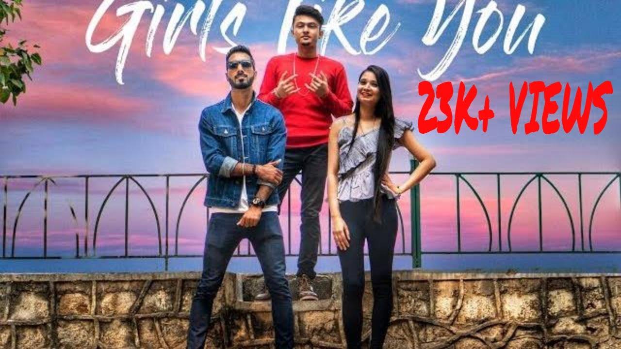 Girls like you - Maroon5 Hindi cover song   Ranky feat. RikzB   Aur kya chahye