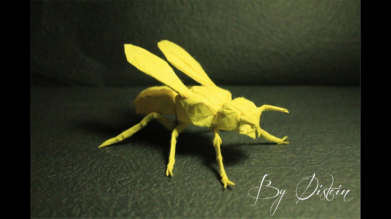 Origami Wasp Yellow Jacket