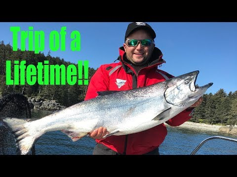 Salmon Trip Of A Lifetime! Langara Lodge 2019