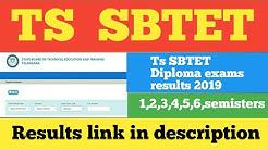 Ts Sbtet diploma 2019 exams results Released  //Ts Sbtet results //SyR Education