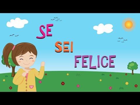 If You Are Happy (ITALIAN)   HD Children Songs & Nursery Rhymes by Music For Happy Kids
