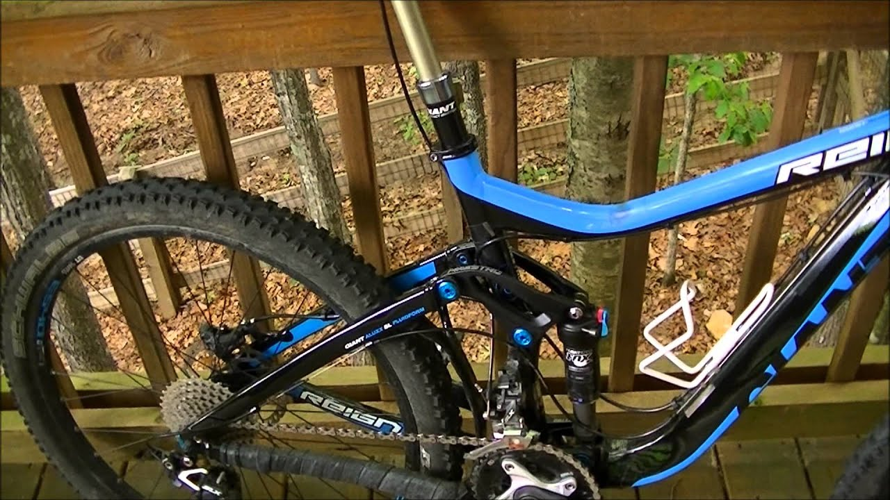 3f2811f898b 2013 Giant Reign 1 Review - YouTube