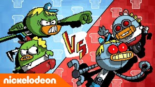 Breadwinners   Robots Contra Breadwinners   Nickelodeon en Español