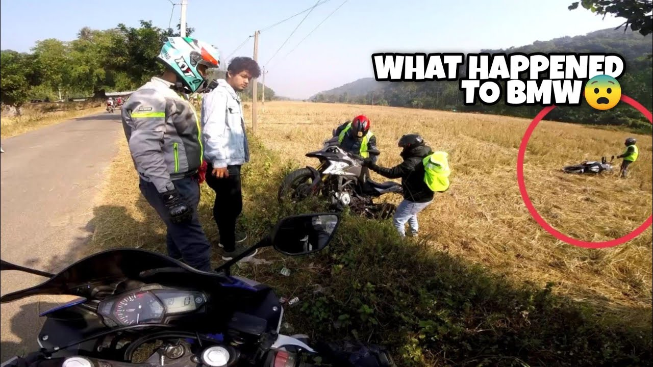 This happened during our group ride😨 !! GUWAHATI Metro Ride ||
