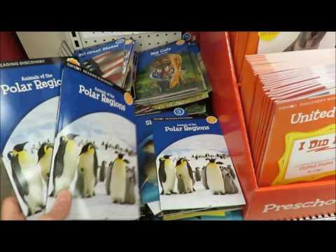 Homeschool Supplies at Target - June 2016