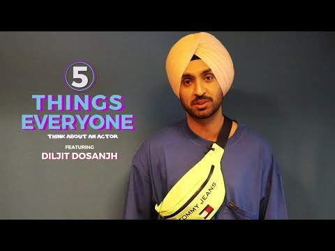 Diljit Dosanjh | 5 Things Everyone Thinks About An Actor | Listicles | Red FM