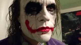 Heath Ledger Dark Knight Joker 1:1 Life-Size Statue by Bob Causey(Updated Video)